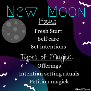 New moon magick
