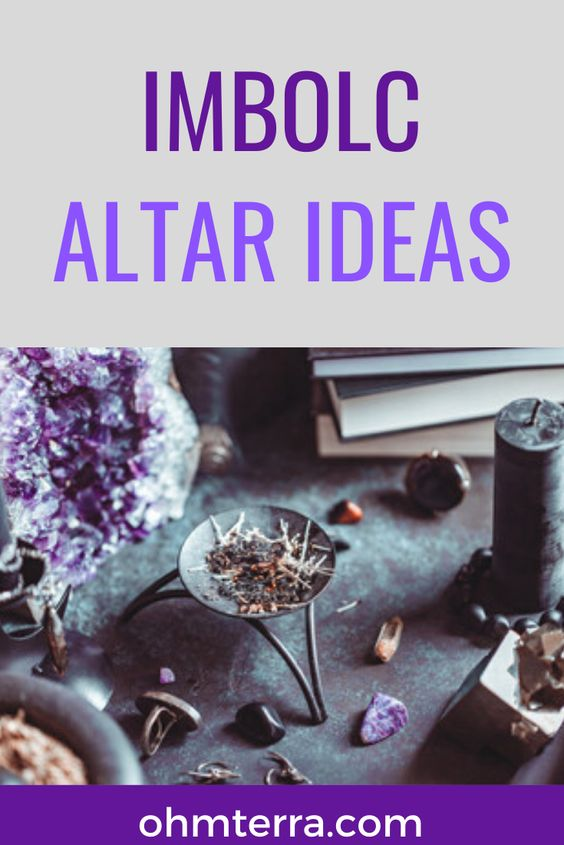 How to Decorate an Imbolc Altar