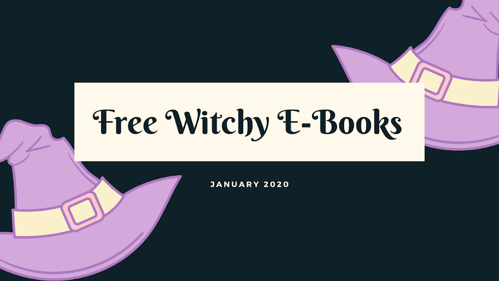 Free Witchy Books on Kindle- January