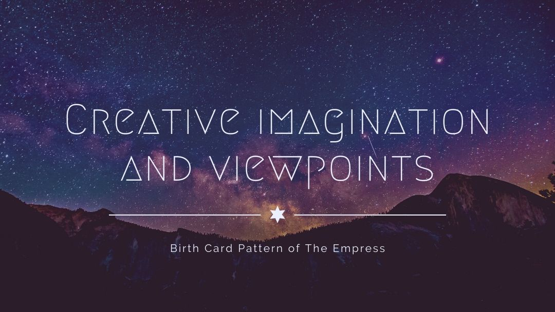Creative Imagination and Viewpoints Tarot Birth Card Pattern