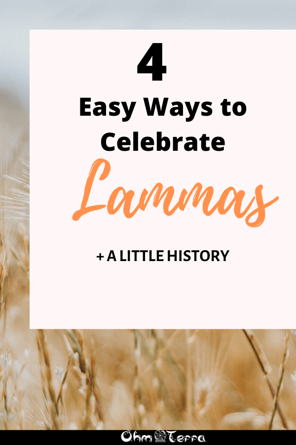 Celebrating Lughnasadh (Lammas)